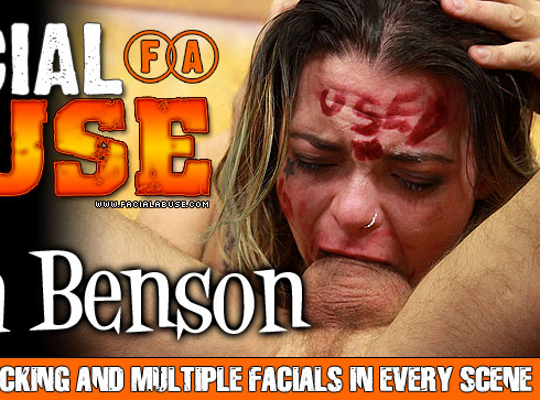 Facial Abuse Mariska Benson Video
